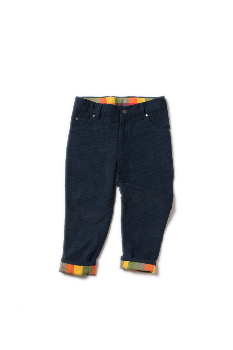 LRG - Navy classic jeans lined 2-3 years