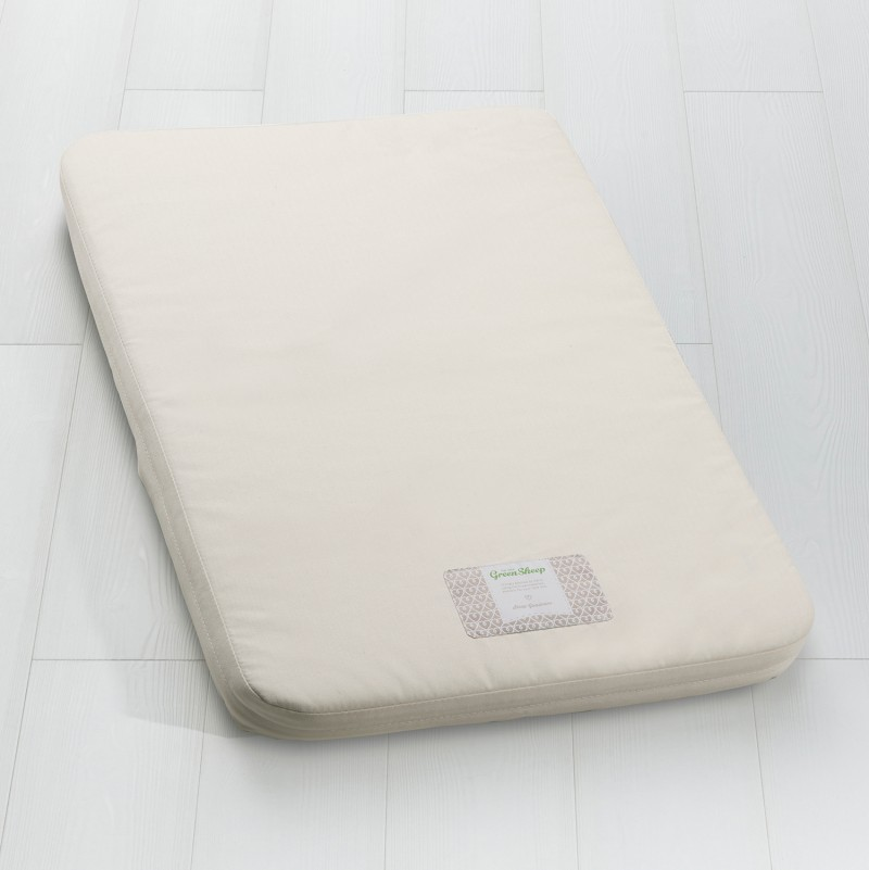 The Little Green Sheep Natural Crib Mattress - To Fit Chicco Next2me Only