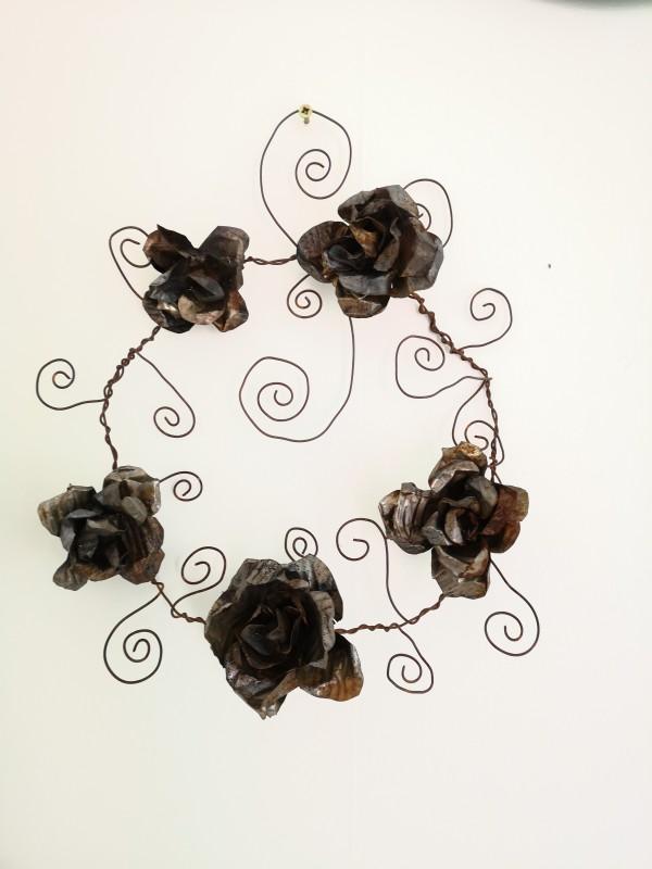 Kransar i metall / metal wreath