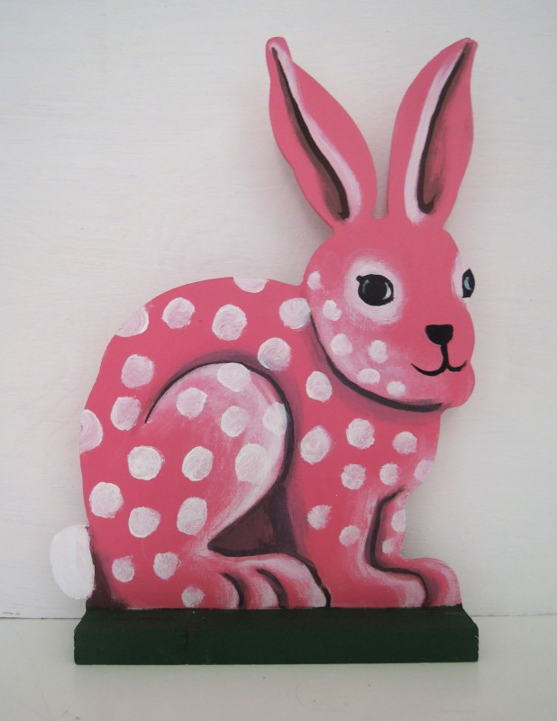 Kanin Stor / Bunny Large  pink or blue