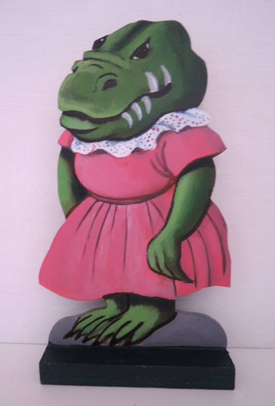 Krokodil, Fru / Crocodile Wife
