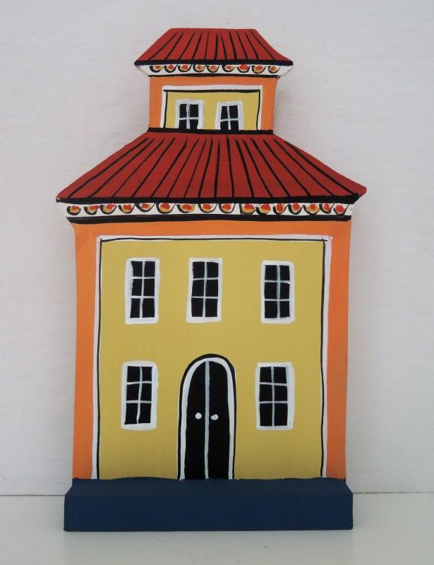 Hus gult / Yellow house