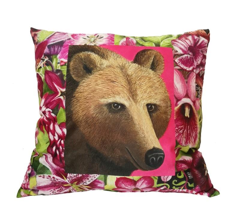 Björn och Lokatt / Bear and lynx - pillowcase