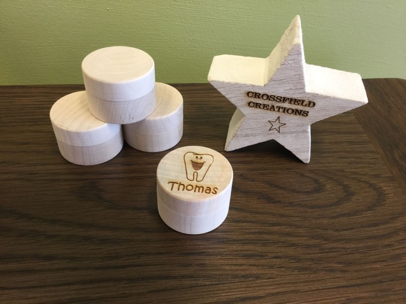 Personalised tooth box