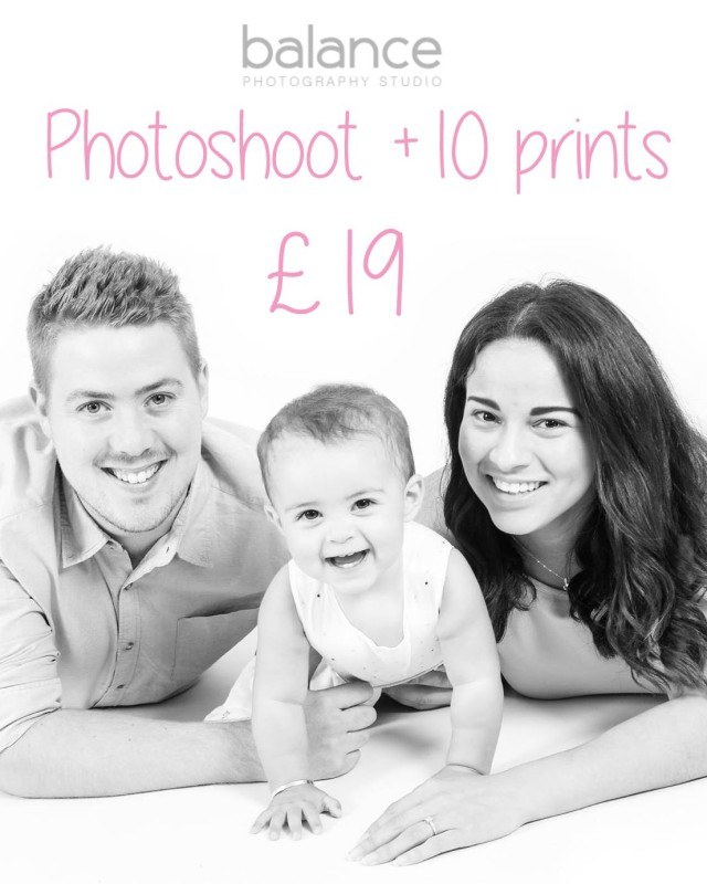 1 hour Photoshoot Special Offer