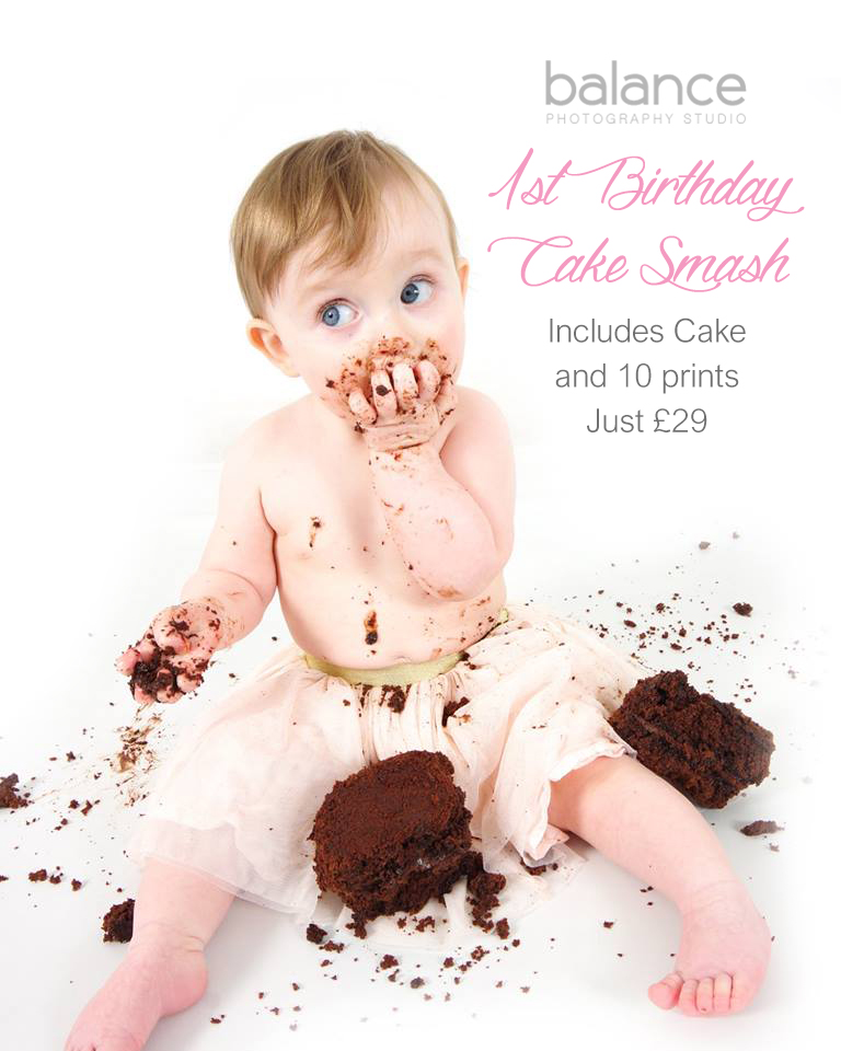 1st Birthday Cake Smash Voucher