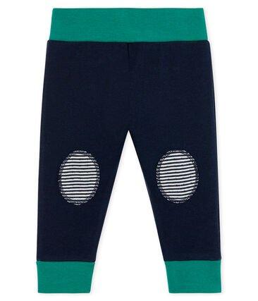 Petit Bateau Navy Patch Trousers