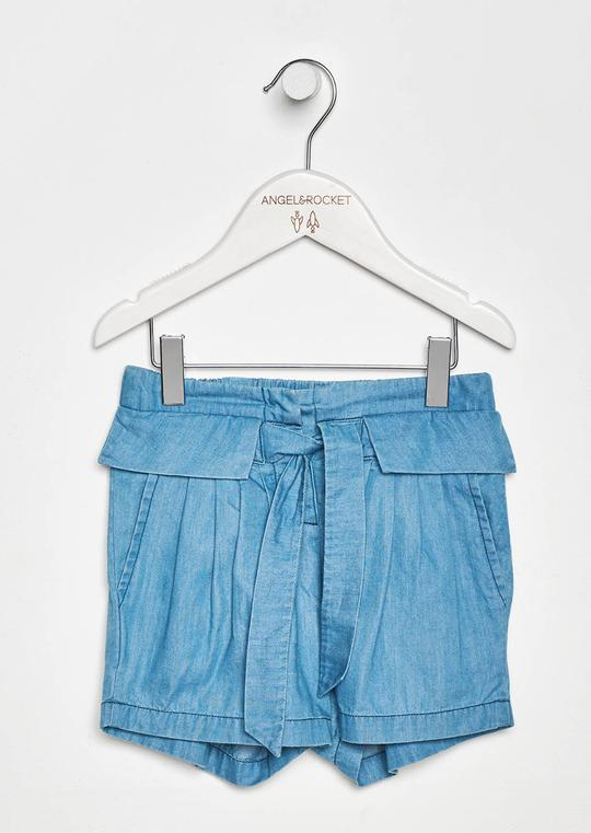 Angel & Rocket Bea Chambray Shorts