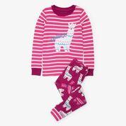 Hatley Adorable Alpaca Organic Cotton Pyjamas