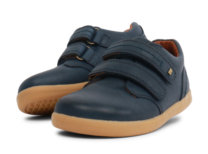 Bobux IW Port Dress Shoe Navy