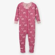 Hatley Darling Deer Organic Cotton Sleepsuit