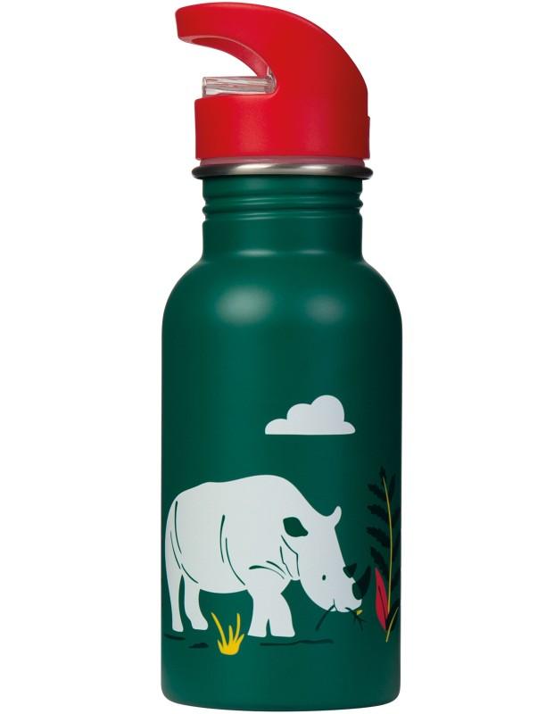 Frugi Splish Splash Steel Bottle Rhino Ramble