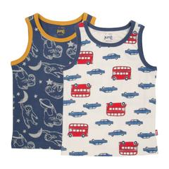 Kite Boys Vests, 2 pack