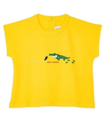 Petit Bateau Yellow Crocodile T-shirt