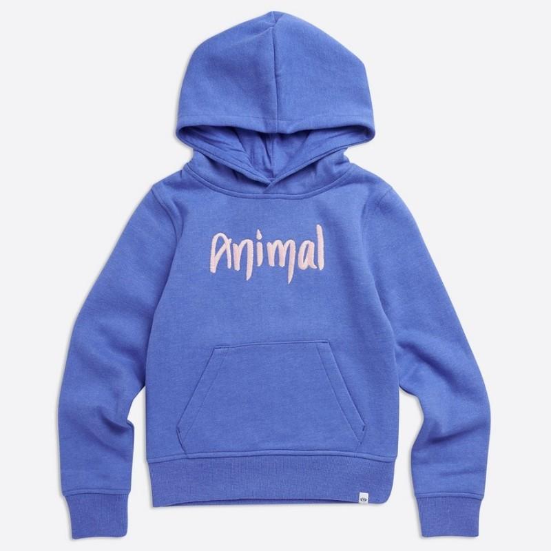 Animal Rachelle Hoody, Blue Marl