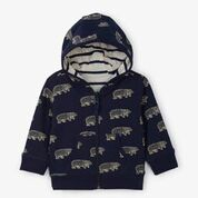 Hatley Band of Bears Reversible Hoodie