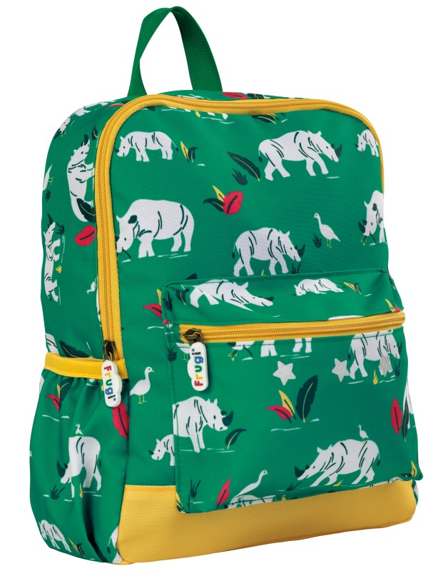Frugi Adventure Backpack Rhino Ramble
