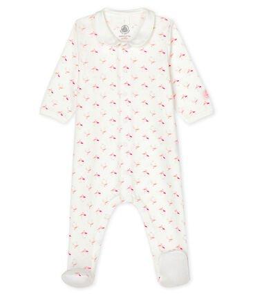 Petit Bateau Flamingo Sleepsuit