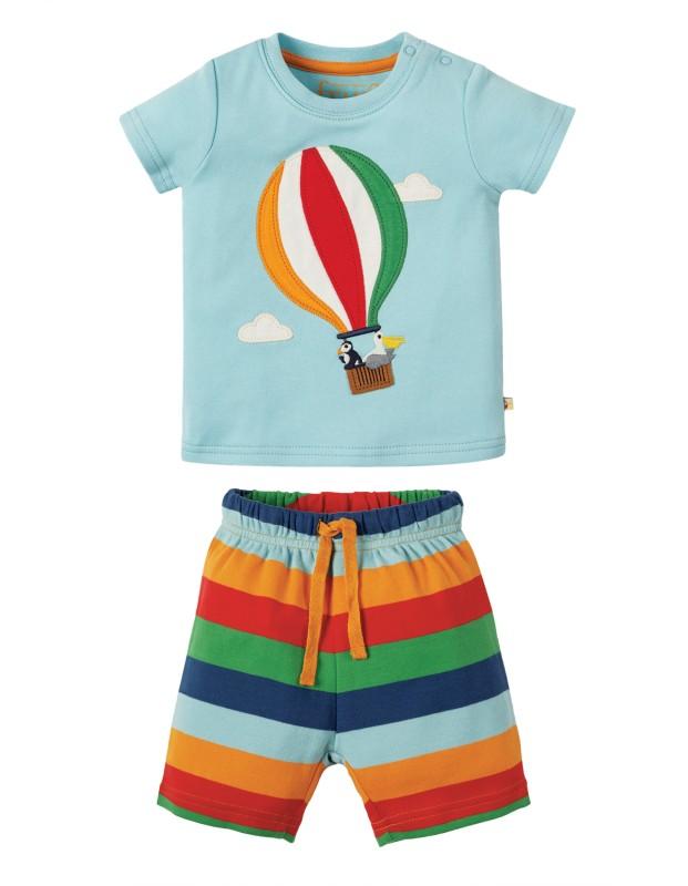 Frugi Little Perran Hot Air Balloon Pyjamas