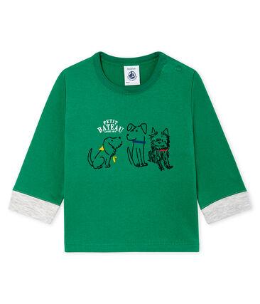 Petit Bateau Green T Shirt