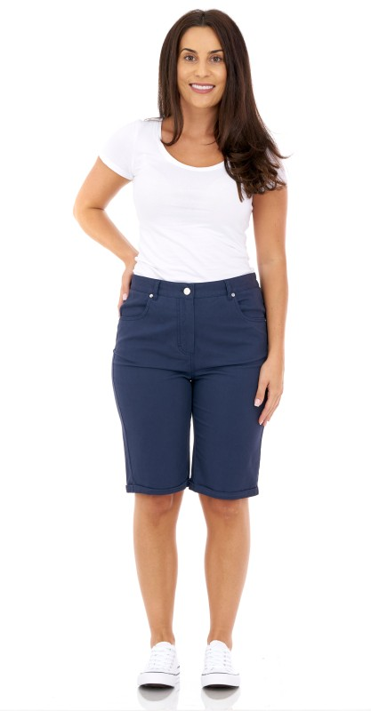 277SH Peached Cotton Tailored Shorts