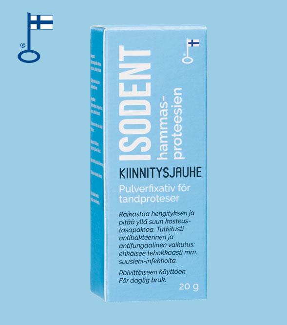 IsoDent hammasproteesien kiinnitysjauhe