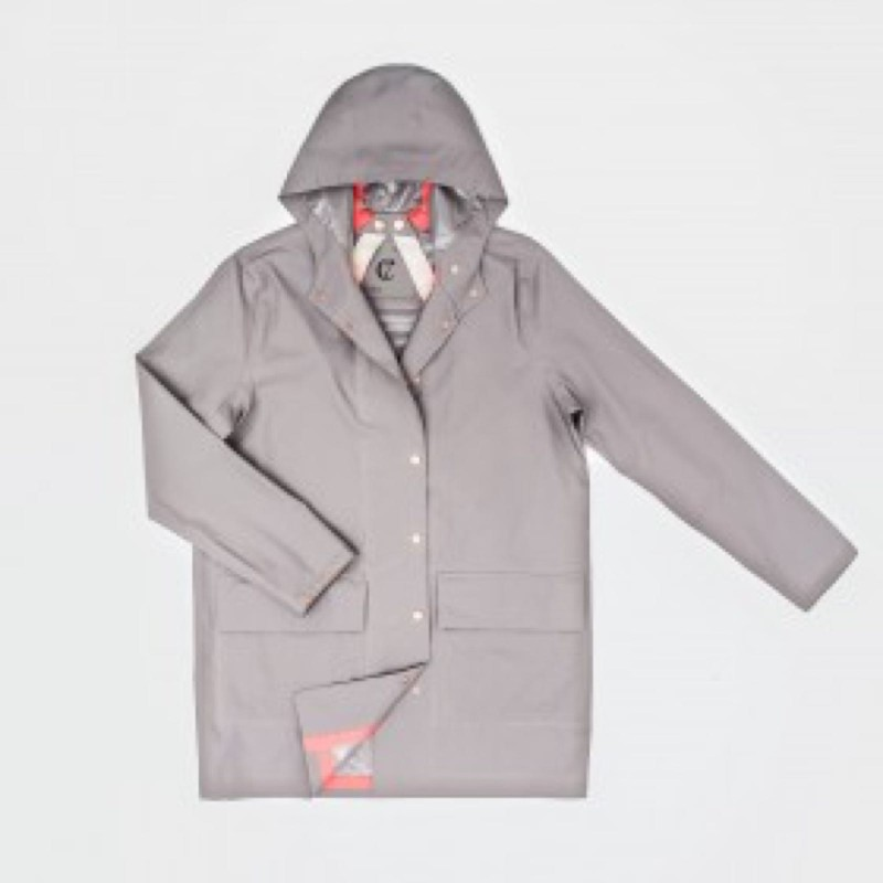 Cloud7 RAINCOAT LONDON GREY