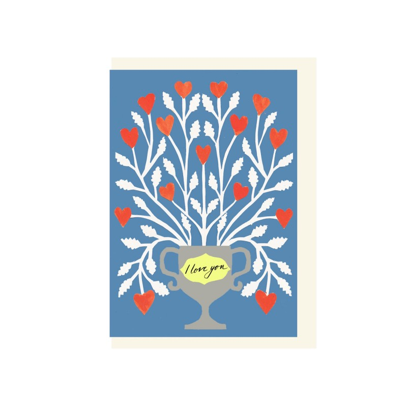 I Love You Plant card by Hadley Paper Goods