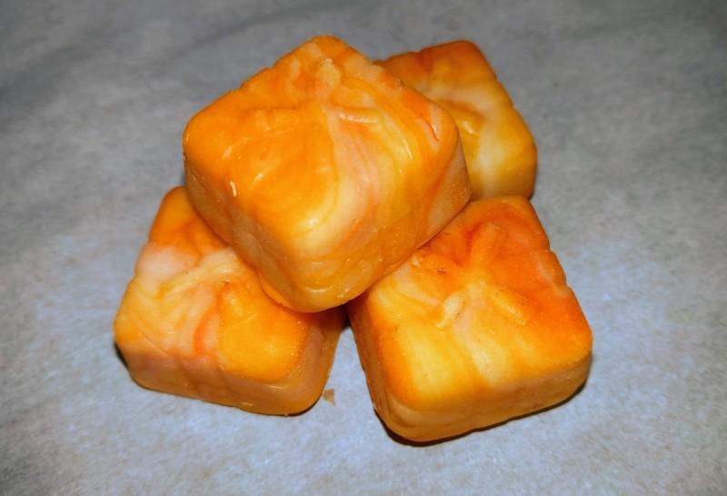 Appelsinfudge i gavepose