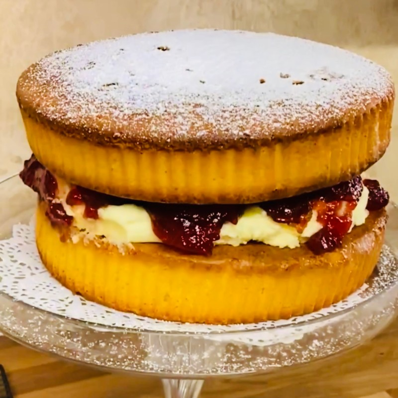 Homemade Victoria Sandwich