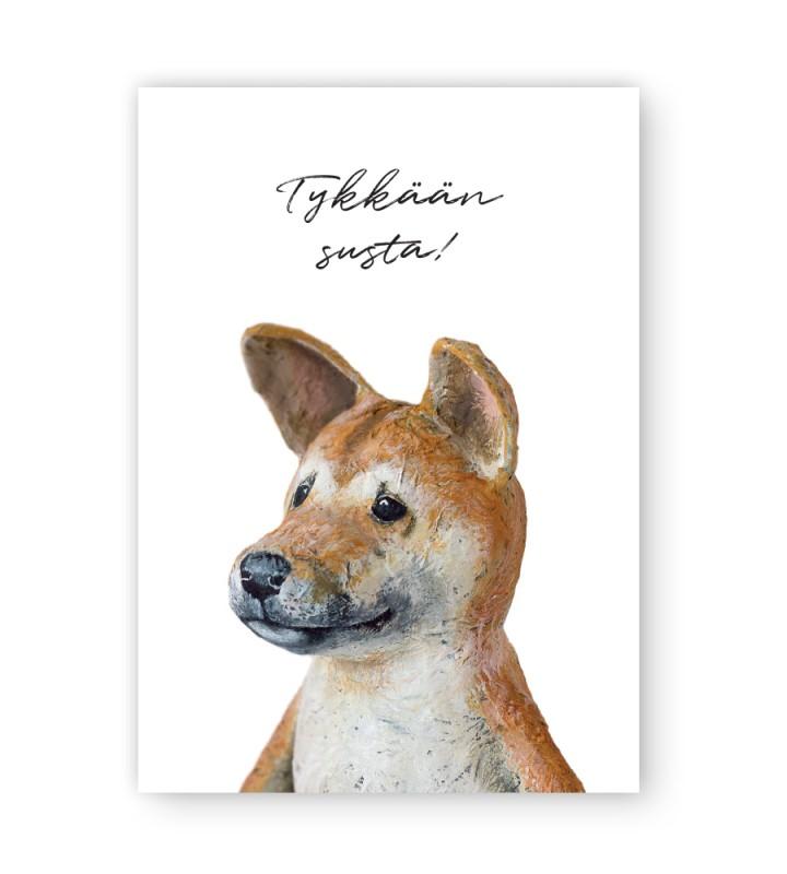 Jiro-koira kortti