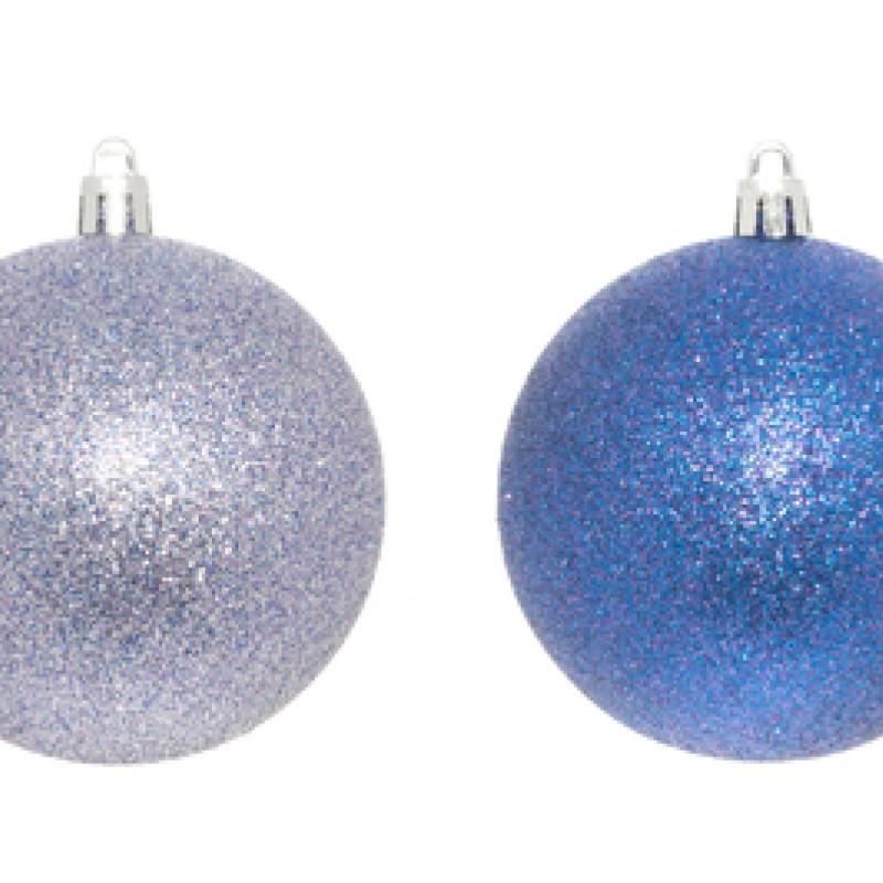 Glitter kuusenpallo 4kpl/pkt
