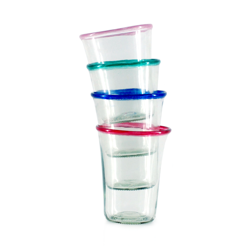 Dricksglas med kant