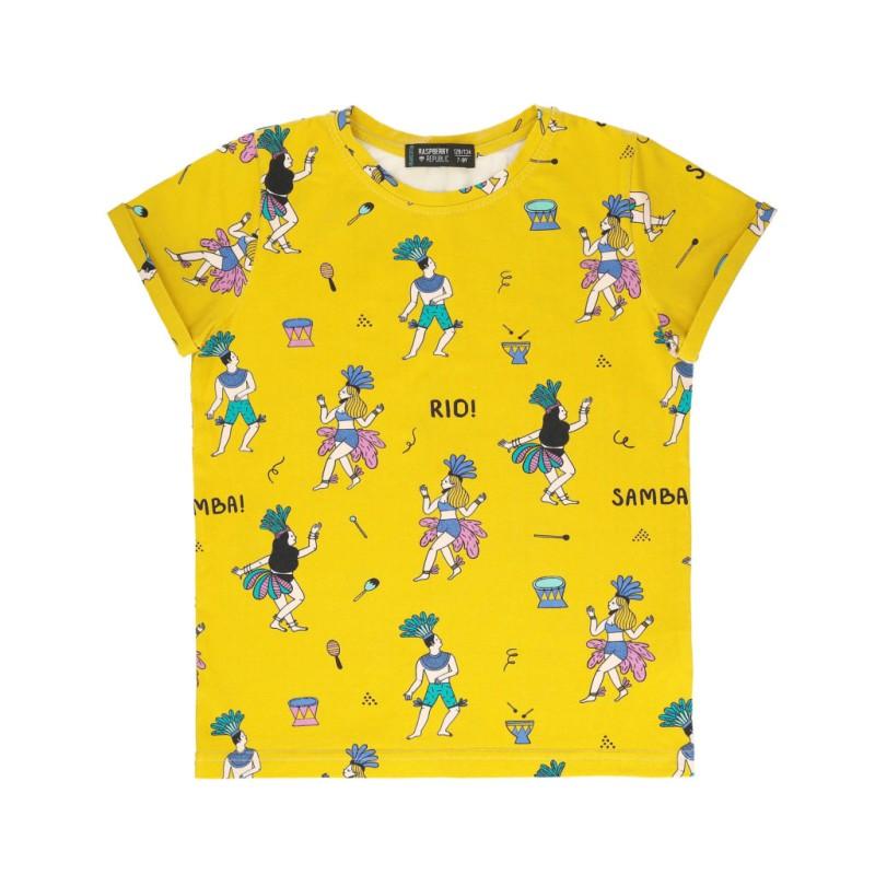 Raspberry Republic Short Sleeve T-Shirt – Samba de Janeiro SS19