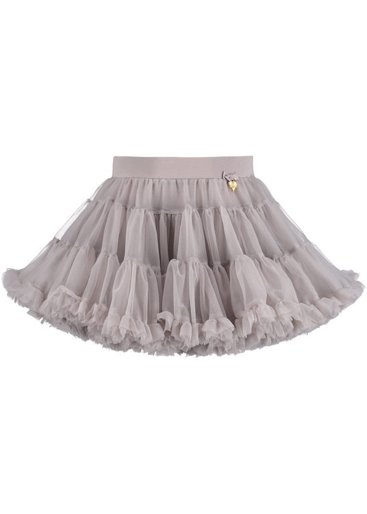Angel's Face Charm Tutu skirt Ash grey