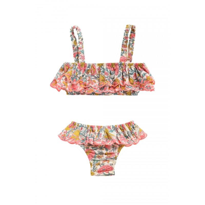 Louise Misha Bikini Caribbean Multi Flowers