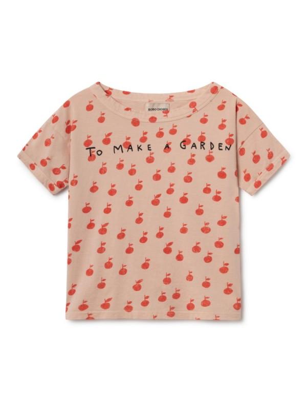 bobo chose apples short sleeve t-shirt
