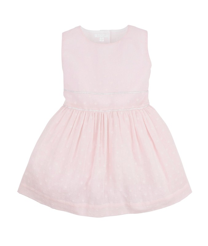 Livly Dots Alicia Dress Pink