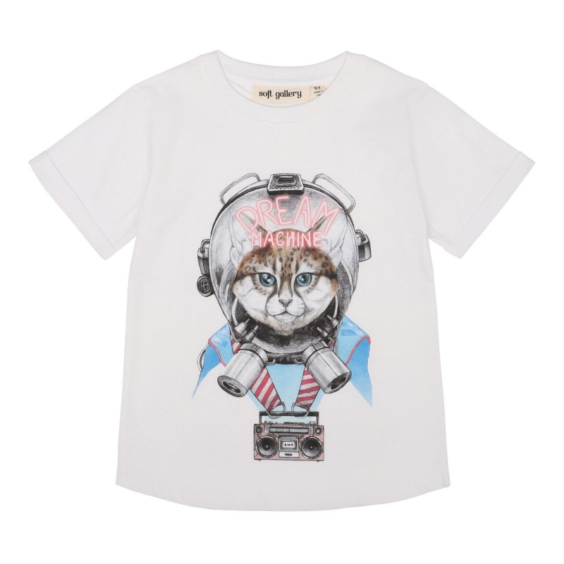 Soft Gallery Kids Norman T-shirt White