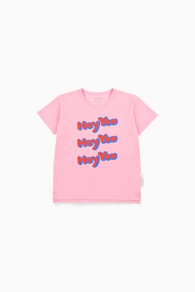 Tinycottons 'Hey You' SS Tee Pink/Red