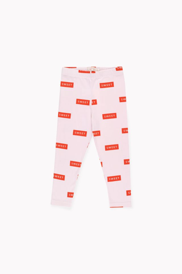 Tinycottons 'Sweet' Pant Pearl/Red