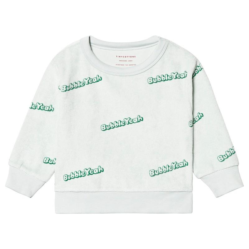 Tinycottons Bubble Yeah Sweatshirt Light Mint/Deep Green
