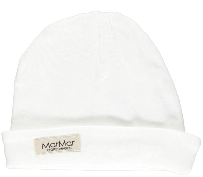 Marmar Aiko New Born Hat Baby Unisex Gentle White