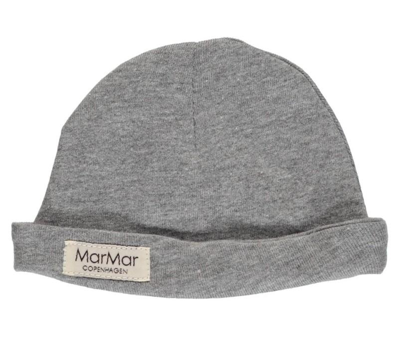 Marmar Aiko New Born Hat Baby Unisex Grey Melange