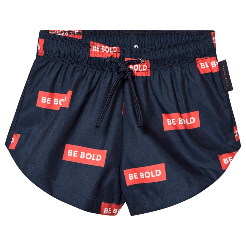 Tinycottons BE BOLD Trunks Navy/Red