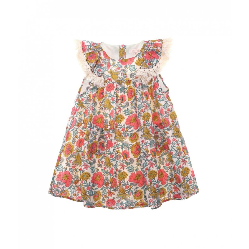 Louise Misha Dress Costa Multi Flowers