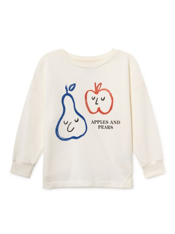Bobo Choses Apples and Pear Round Neck Sweatershirt