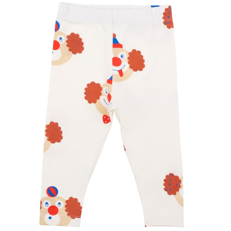 Tinycottons Clowns Pant Off-White/Sienna
