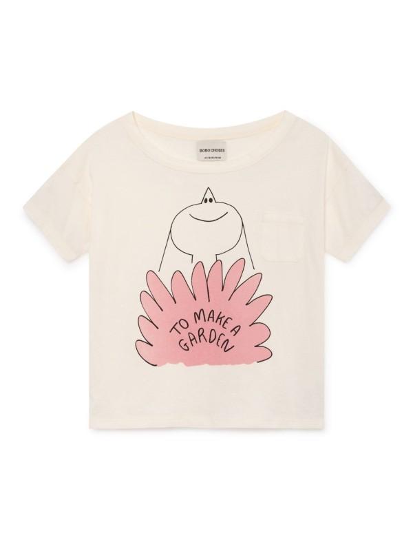 bobo chose lavander short sleeve t-shirt