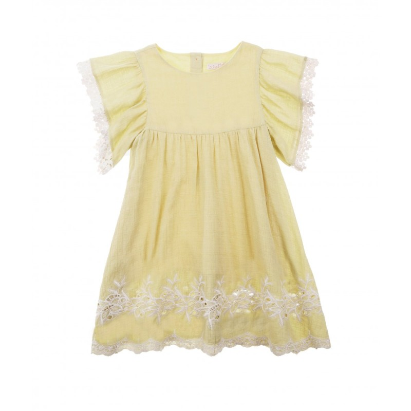Louise Misha Bahamas soft yellow
